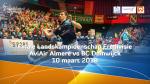 Finale Landskampioenschap Eredivisie AviAir Almere tegen BC Duinwijck