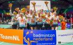 Badmintonclub Duinwijck pakt 25e titel in Finale Landskampioenschap Eredivisie